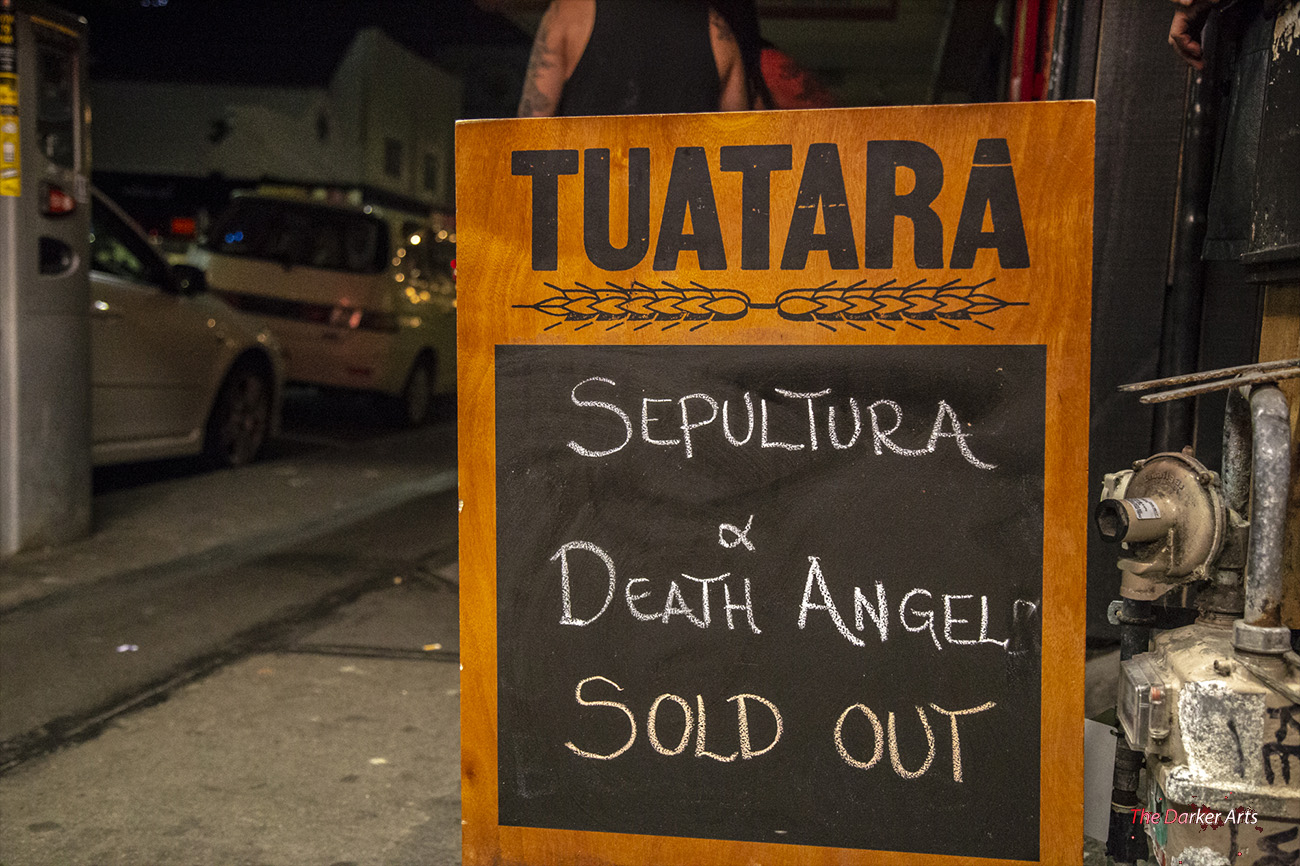 Sepultura with Death Angel